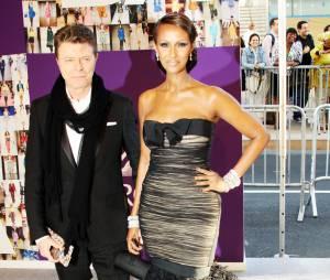 Mort de David Bowie : un homme discret avec sa femme Iman et ses enfants
