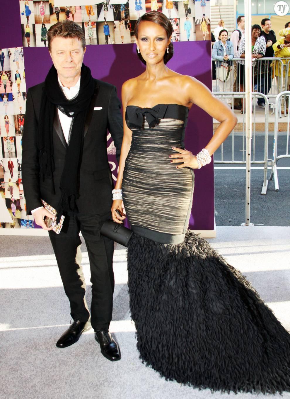 David Bowie et sa femme Iman