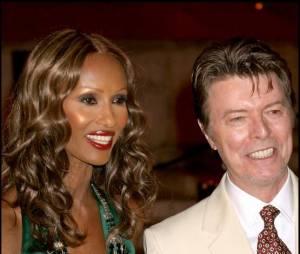 David et Iman Bowie à la soirée Vanity Fair en 2007