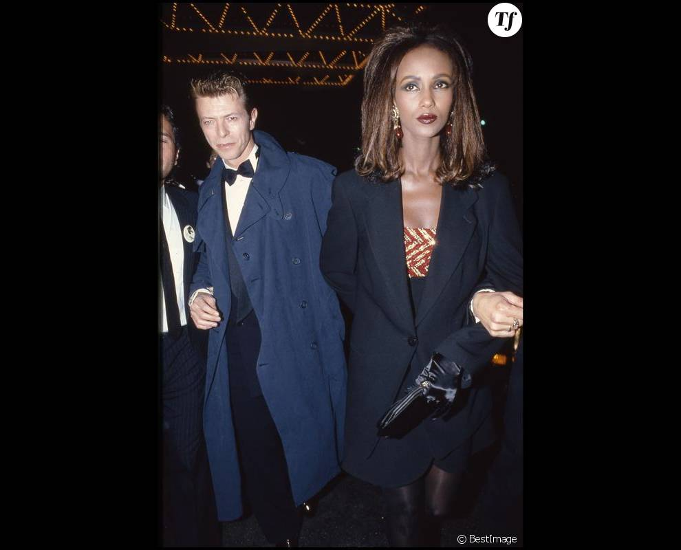 David et Iman Bowie à Beverly Hills en 1991