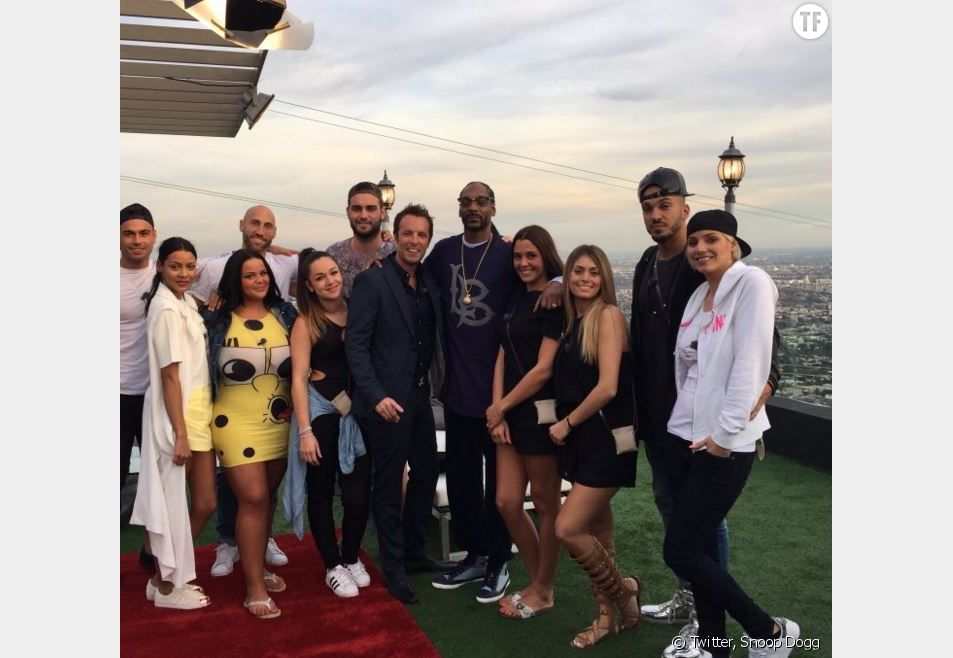 Photo du casting des Anges 8 avec Snoop Dogg