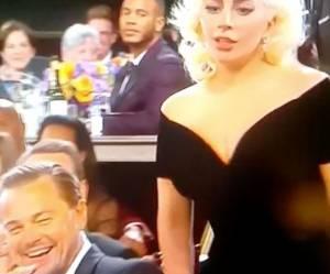 Lady Gagate : et si elle avait bousculé Leonardo EXPRÈS ?