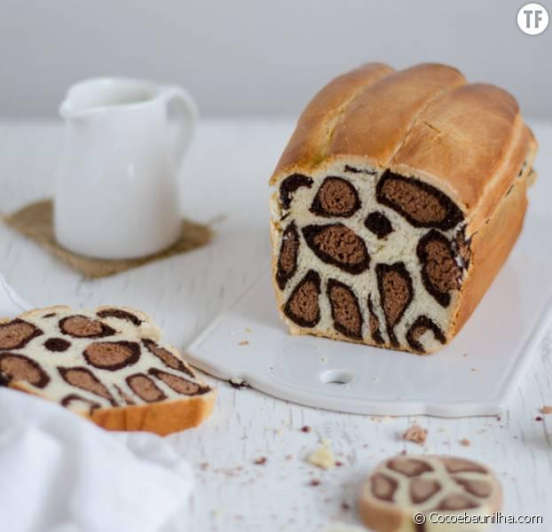 La recette du pain léopard créé par la pâtissière Patricia Nascimento