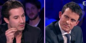 ONPC : l'humoriste Jérémy Ferrari interpelle violemment Manuel Valls (vidéo)