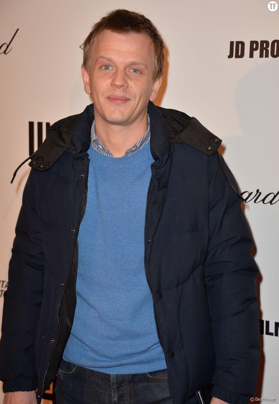 """Alex Lutz - Avant première du film """"Un + Une"""" de Claude Lelouch à l'UGC Normandie à Paris le 23 novembre 2015."""
