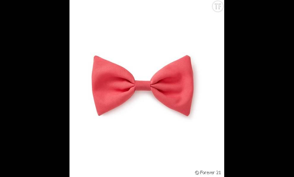 Barrette noeud oversize Forever 21 2,45 euros