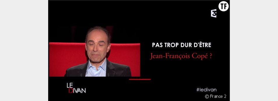 Le Divan de Marc-Olivier Fogiel : les confessions de Jean-François Copé (France 2 Replay / Pluzz)