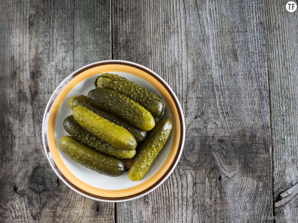 Manger des cornichons : la recette miracle pour être moins stressée