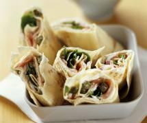 La recette gourmande du wrap au saumon et crudités