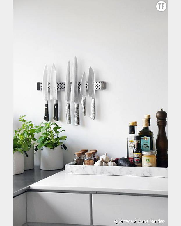 9 astuces pour optimiser une petite cuisine - Optimiser une petite cuisine ...