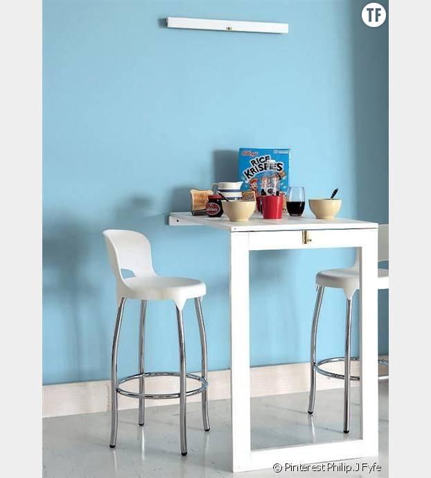 petites tables de cuisine amazing table de cuisine table pliante cm noir with petites tables de. Black Bedroom Furniture Sets. Home Design Ideas