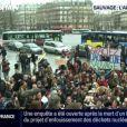 Une manifestation de soutien à Jacqueline Sauvage