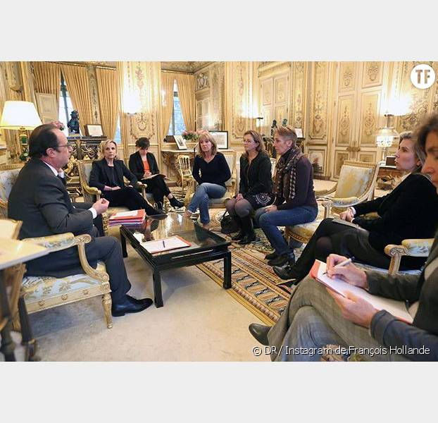 François Hollande a reçu les filles et les avocates de Jacqueline Sauvage