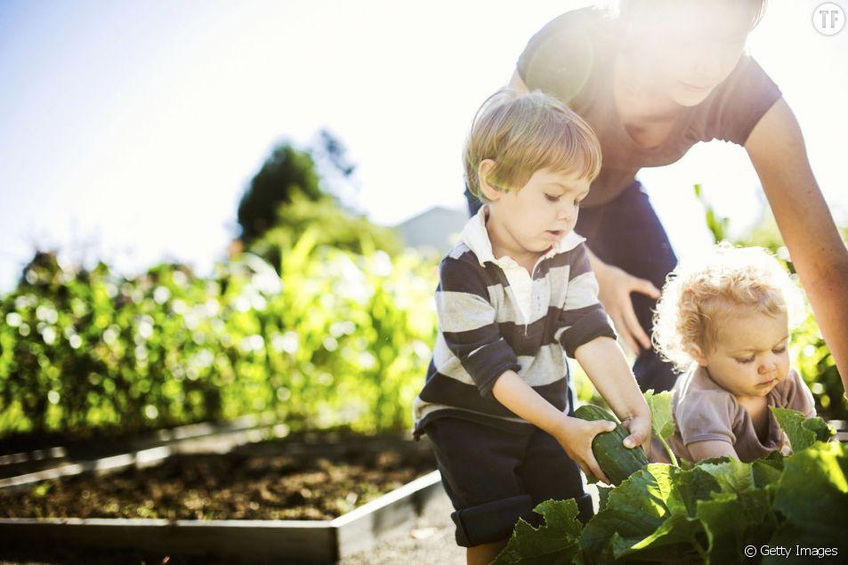 Des petits jardiniers en herbe