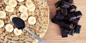 La recette de la pâte à crêpes à deux ingrédients