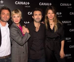Augustin Trapenard, Maïtena Biraben, Mathieu Madénian et Lauren Bastide