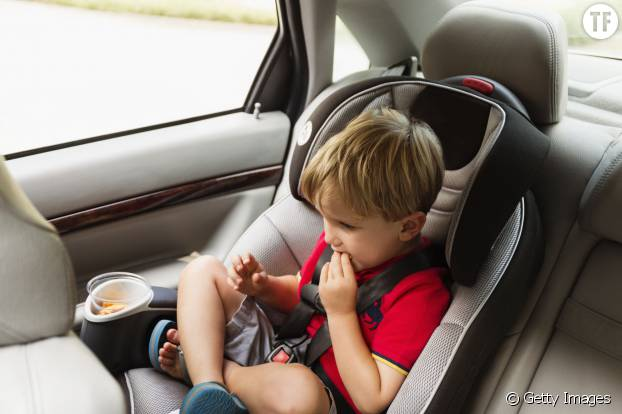 Les enfants sont-ils en sécurité en voiture ?