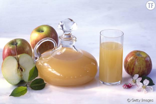 Le vinaigre de cidre de pomme, le coup de pouce