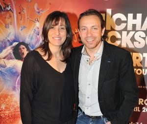 Philippe Candeloro et sa femme