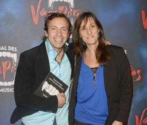 Philippe Candeloro et sa femme Olivia