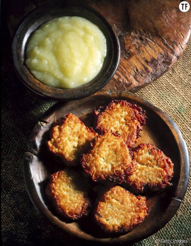 Galettes de pommes de terre râpées