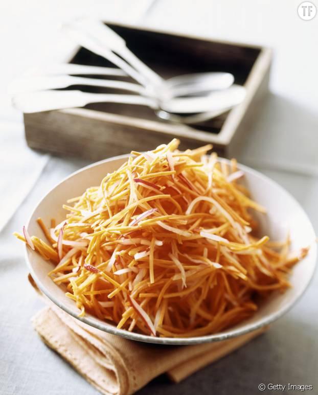 Les carottes râpées: une valeur sûre en cuisine