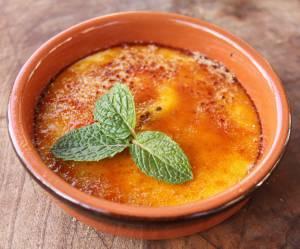 La recette de la crème brûlée au micro-ondes