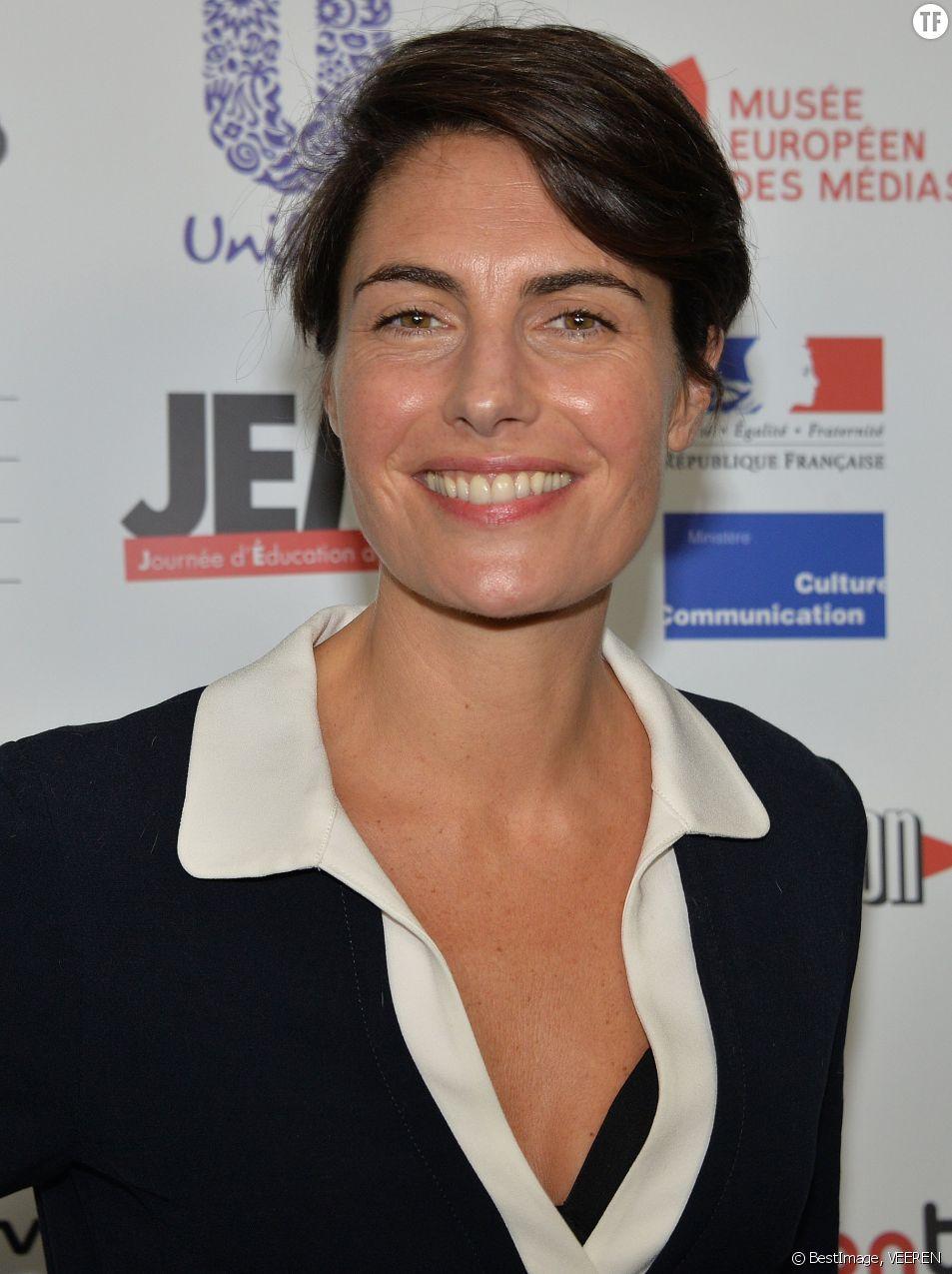 L'animatrice Alessandra Sublet