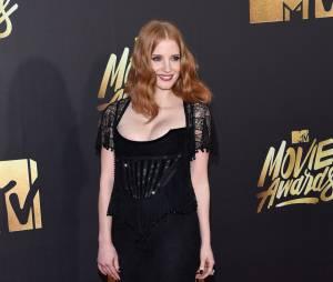 Jessica Chastain - Cérémonie des MTV Movie Awards 2016 à Los Angeles