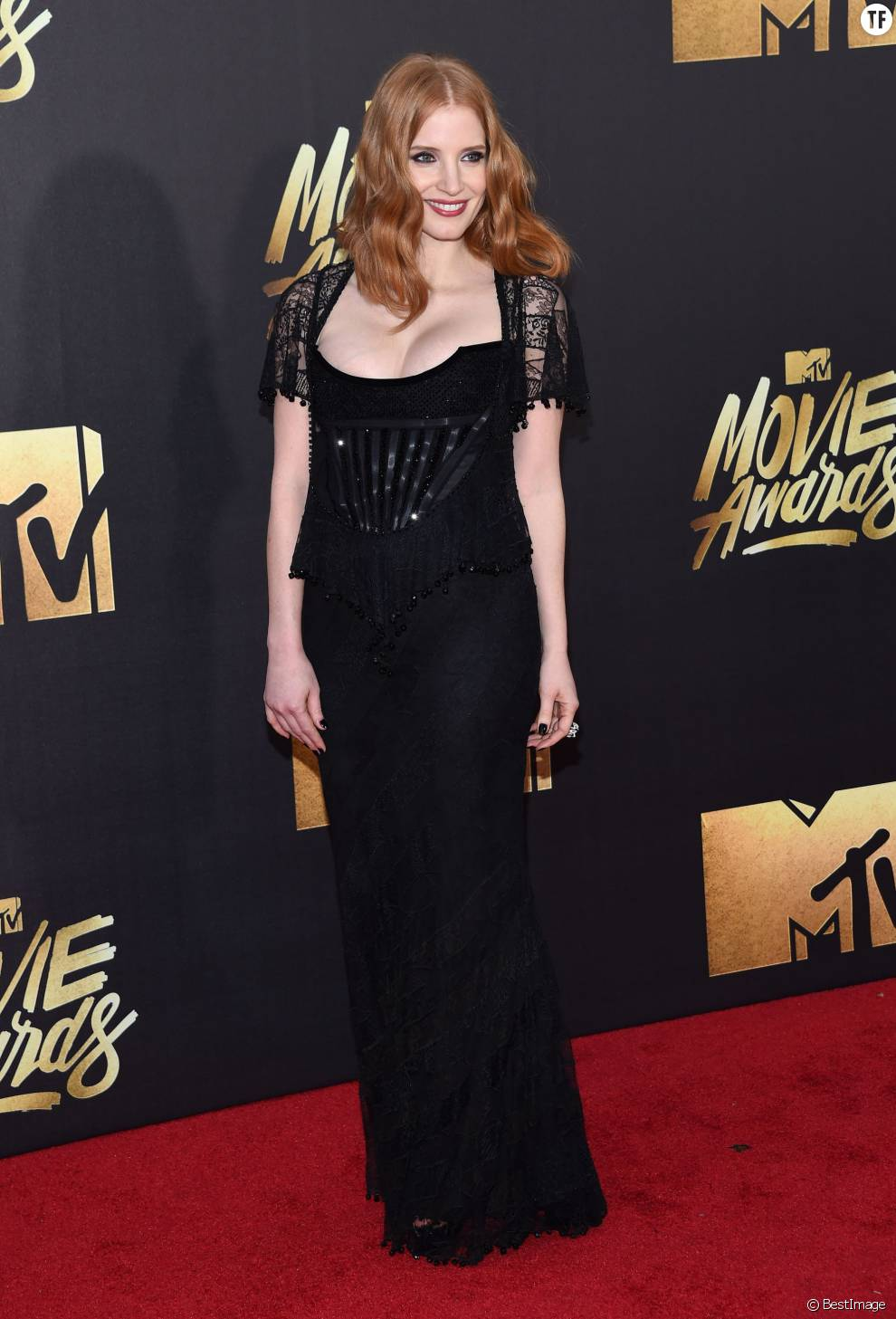 Jessica Chastain - Cérémonie des MTV Movie Awards 2016 à Los Angeles