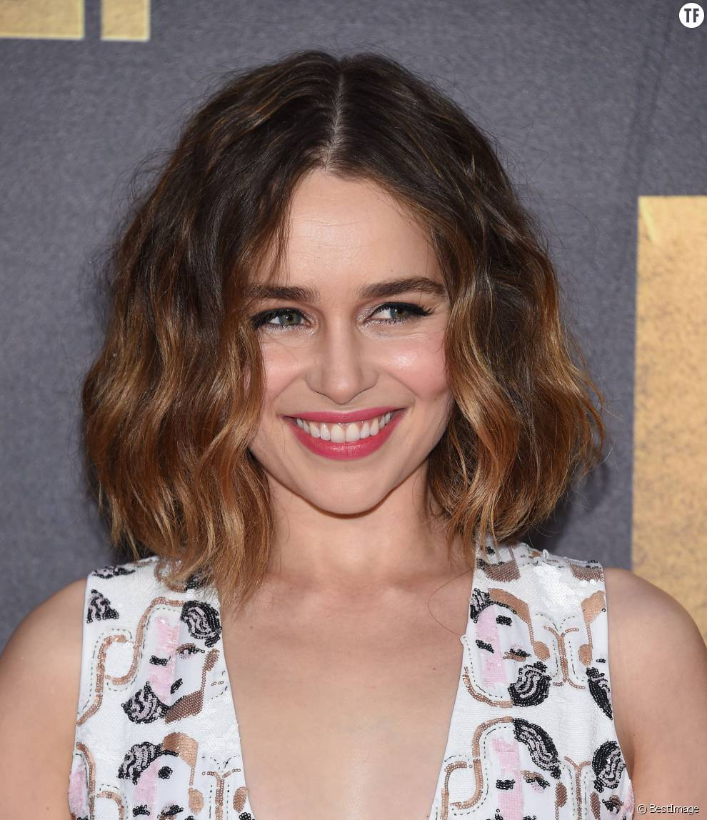 Emilia Clarke - Cérémonie des MTV Movie Awards 2016 à Los Angeles