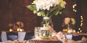 5 jolies idées avec des Mason jars pour pimper la déco de son mariage