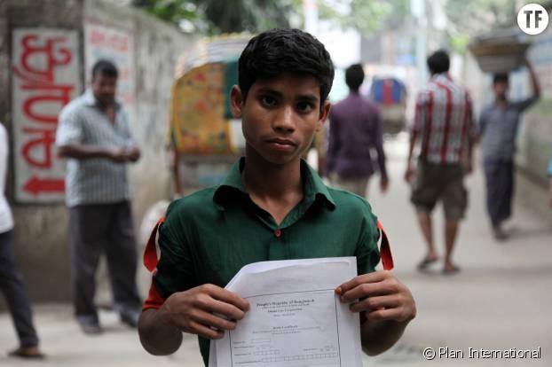 Un enfant fantôme originaire du Bangladesh
