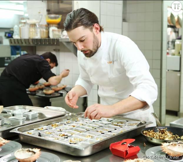 Xavier lors de la grande finale de Top Chef 2016