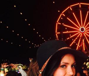 Nina Dobrev au festival de Coachella 2016