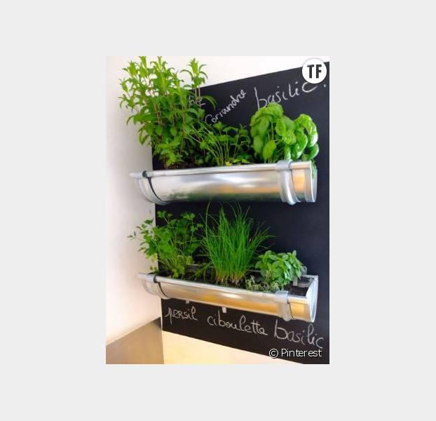 8 jolies id es de petits jardins int rieurs d nich es sur for Pinterest deco jardin