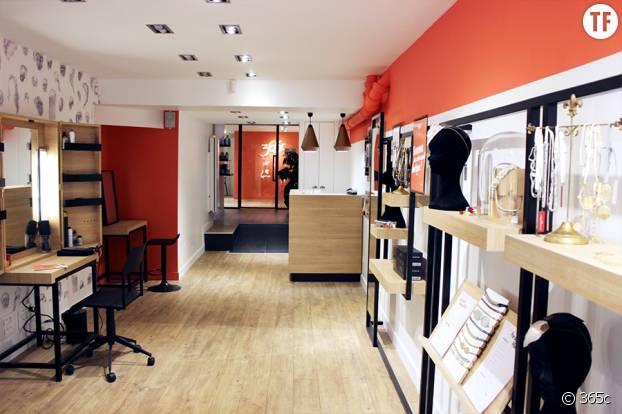 La boutique 365 c située dans le IIIème arrondissement.