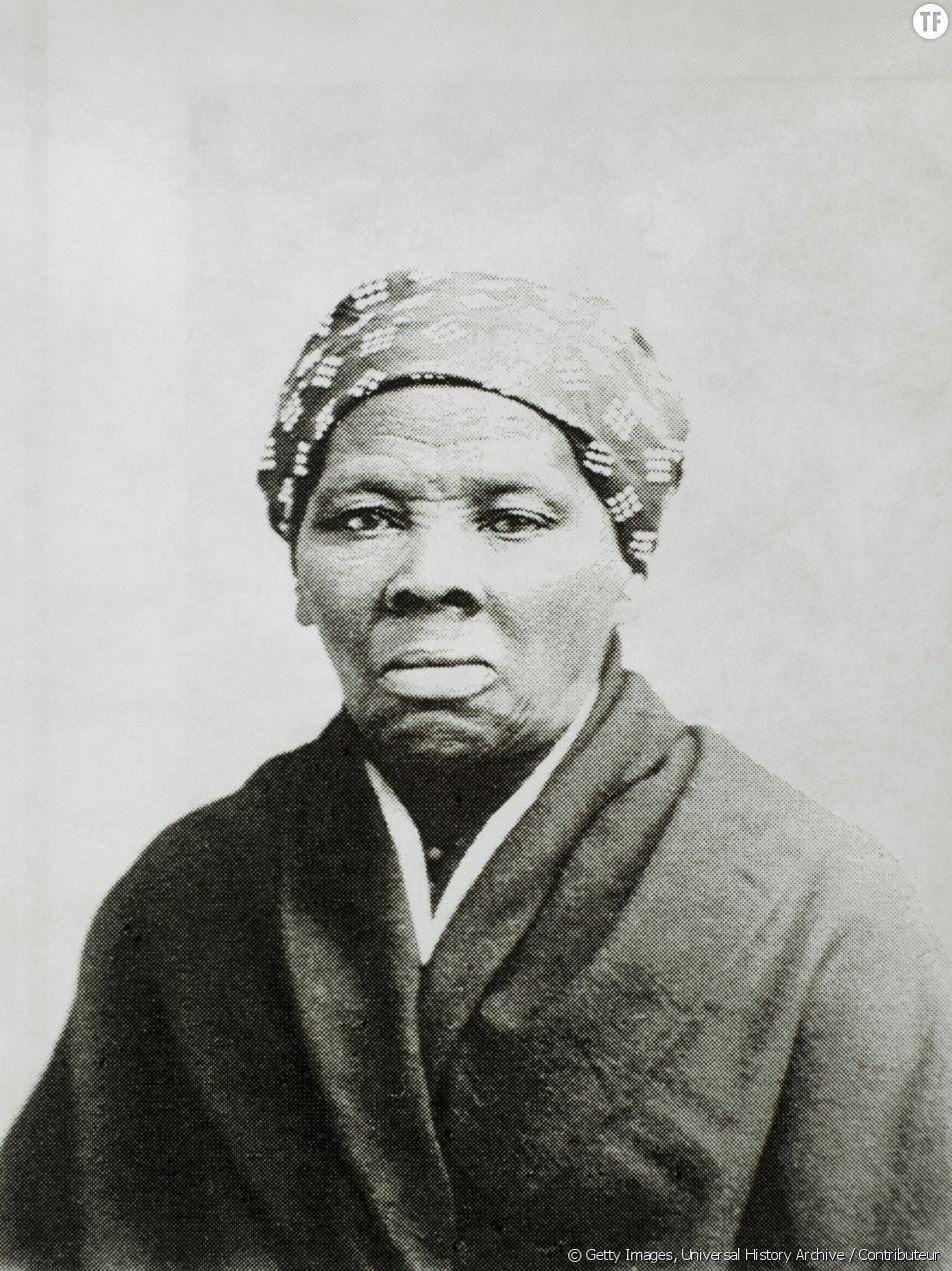 Un portrait d'Harriet Tubman
