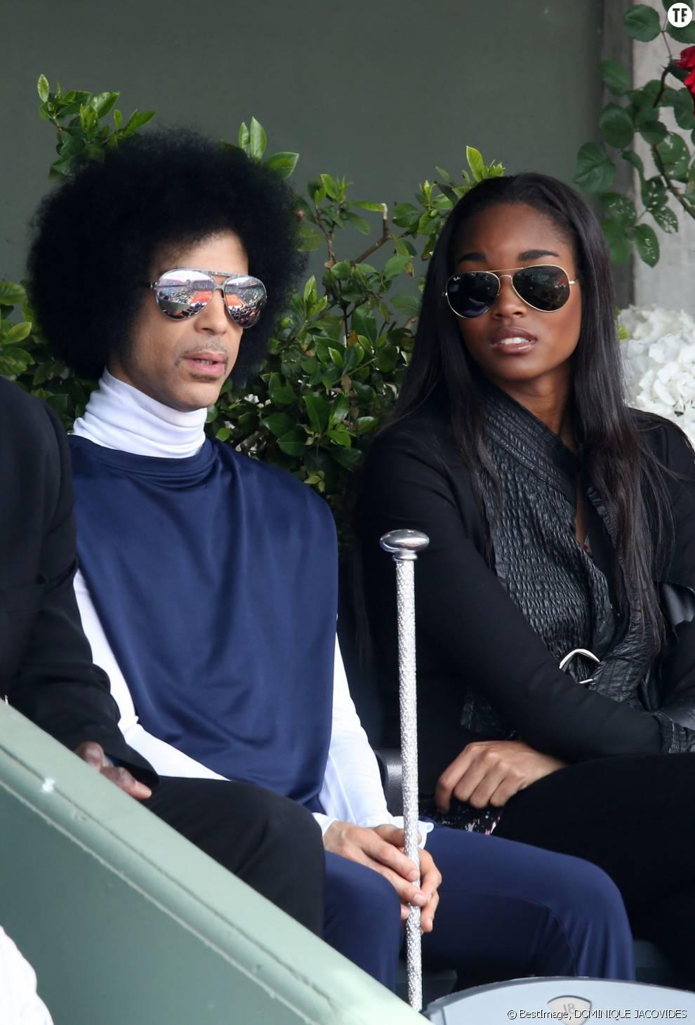Prince et sa compagne depuis 2012, Damaris Lewis