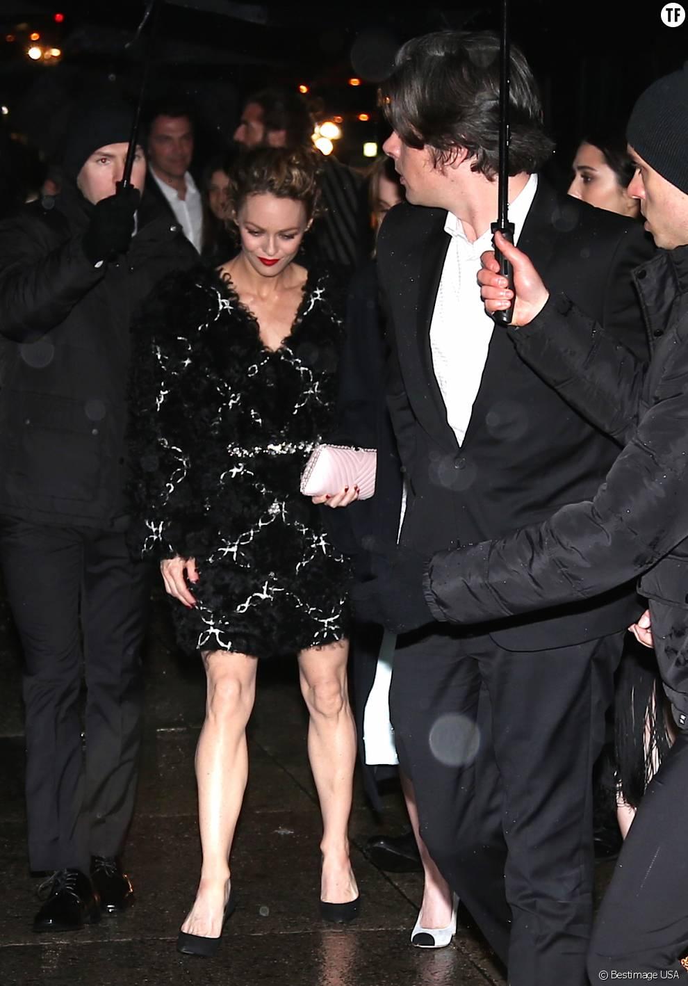 Benjamin Biolay et Vanessa Paradis en mars 2015