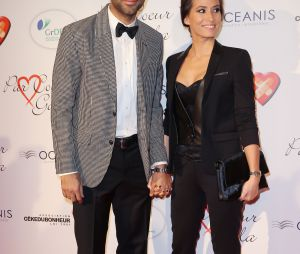 Tony Parker et sa femme Axelle Francine
