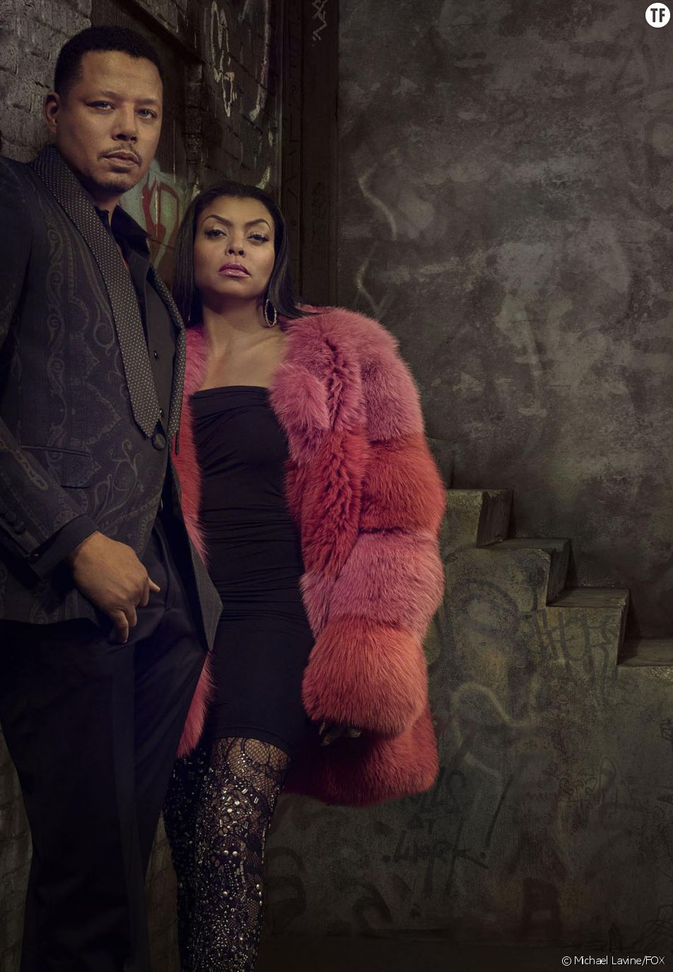 Taraji P. Henson et Terrence Howard dans Empire saison 3