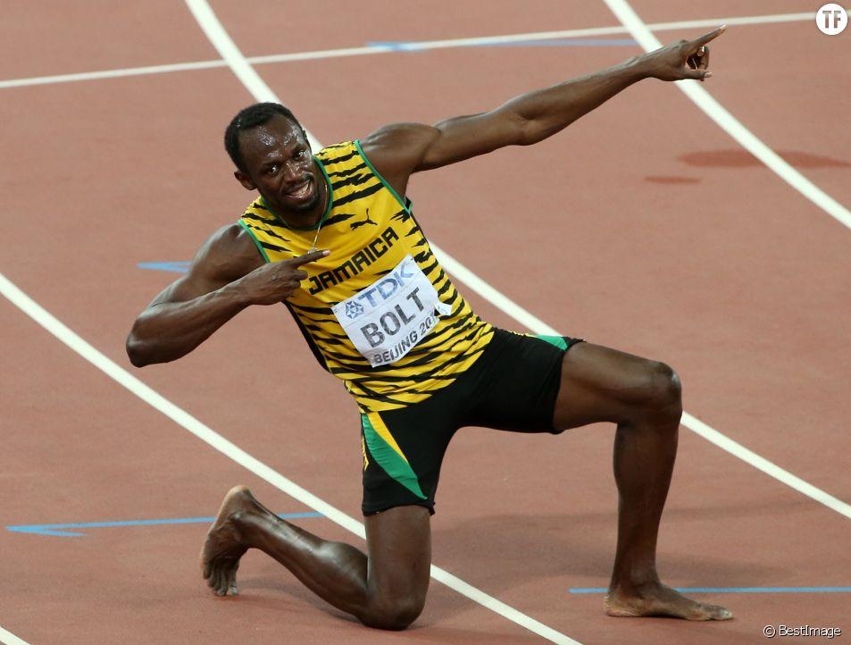 Usain Bolt remporte la 9ème médaille d'or de sa carrière
