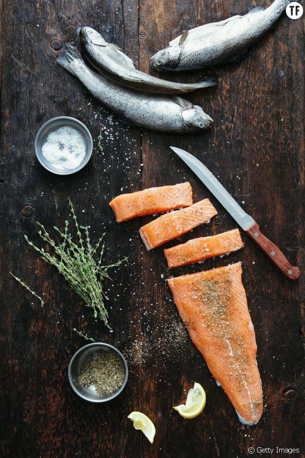 Le saumon : riche en vitamines et en protéines réparatrices