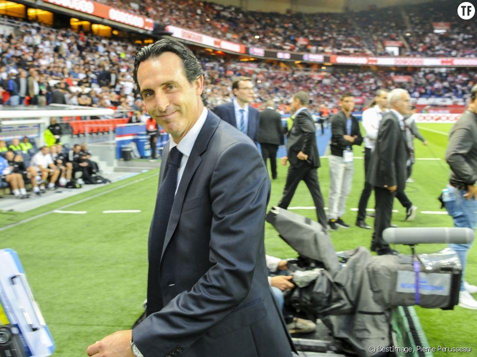 Unai Emery, entraîneur du PSG