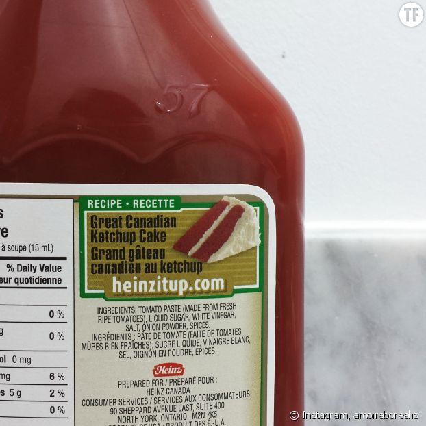 La recette originale du gâteau au ketchup par Heinz