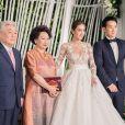 La robe de mariée de Noey Chotika qui emballe le web