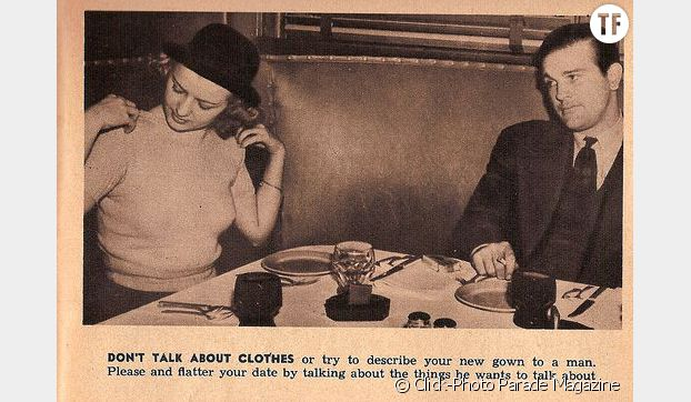 """""""Ne parlez pas de vêtements"""""""