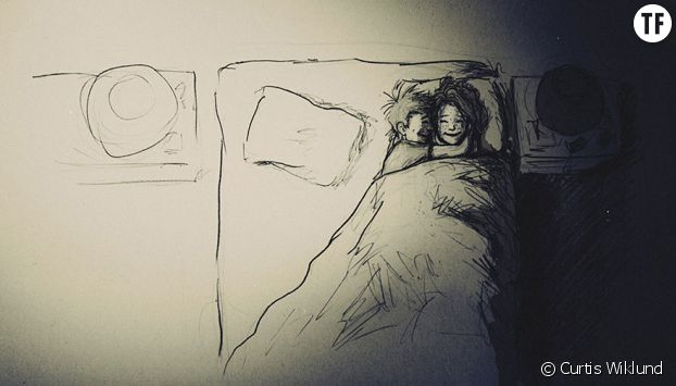 Image Amour Couple Dessin