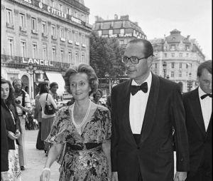 Jacques et Bernadette Chirac à un gala de bienfaisance au profit de la Fondation Claude Pompidou en juin 1980